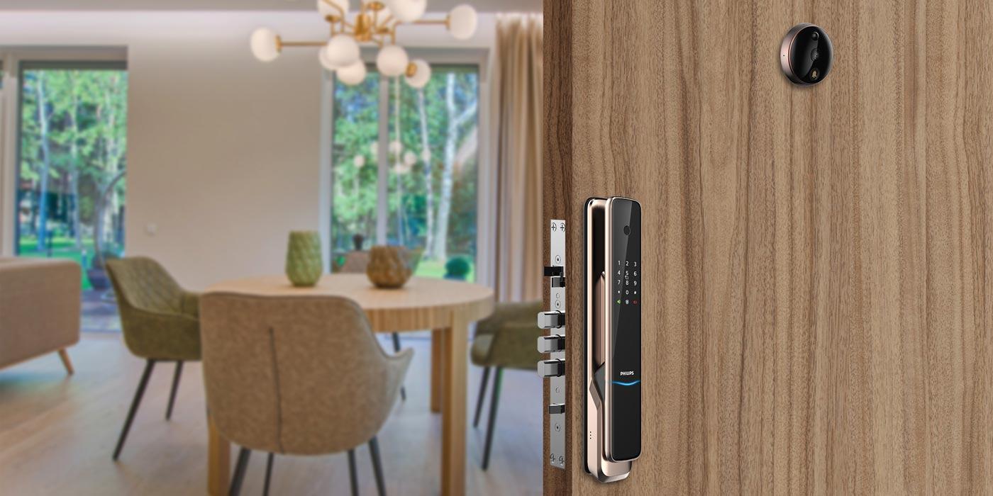 Welcome home, Philips door viewer
