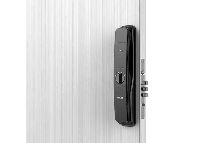 Philips Easykey DDL702 push-pull door lock
