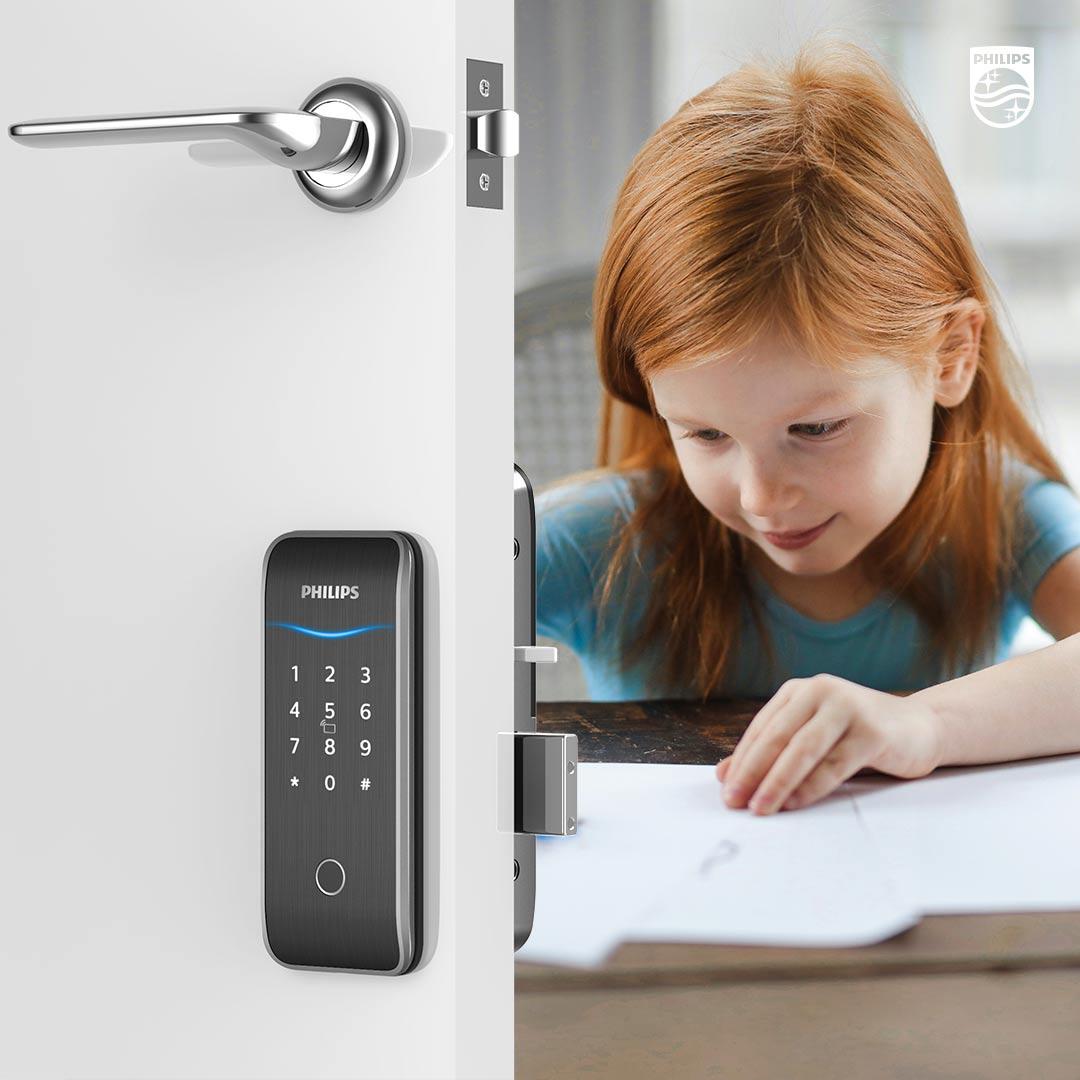 Philips EasyKey 515K rim lock