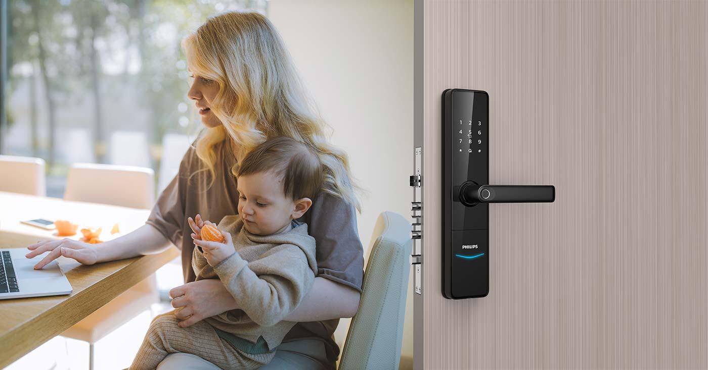 Philips EasyKey DDL603E lever lock