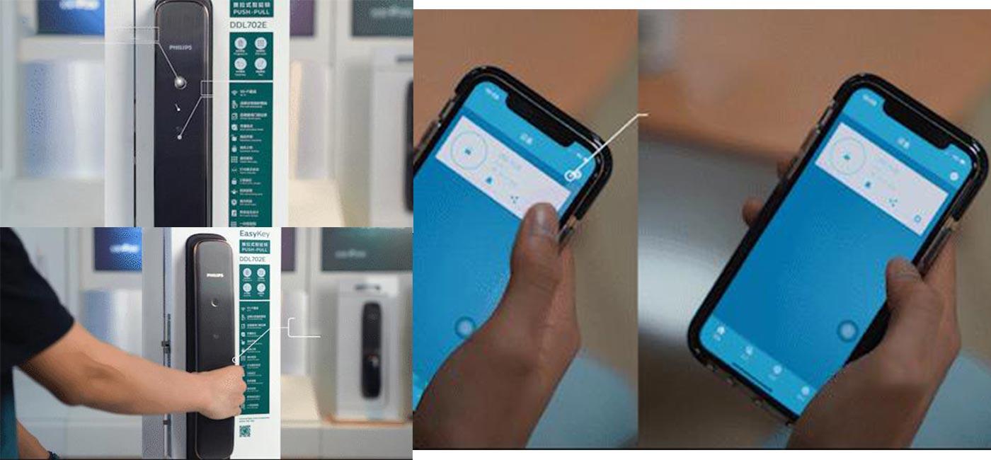 What amazing functions do the Philips smart door locks have?cid=6